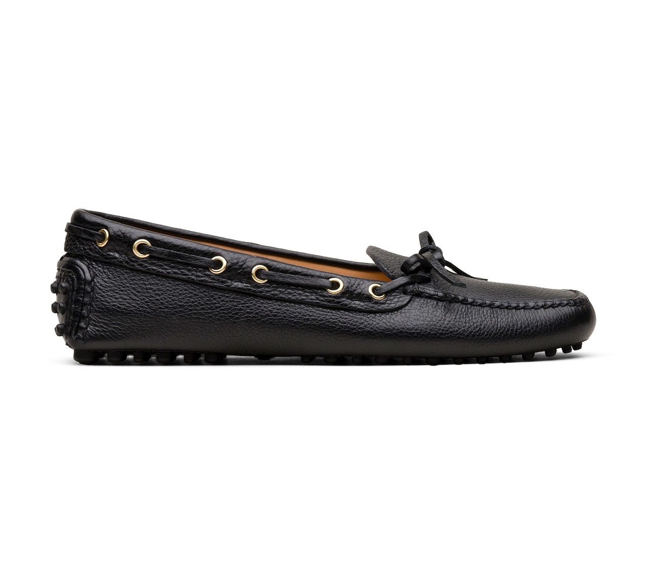 DRIVING SHOES DEERSKIN BLACK