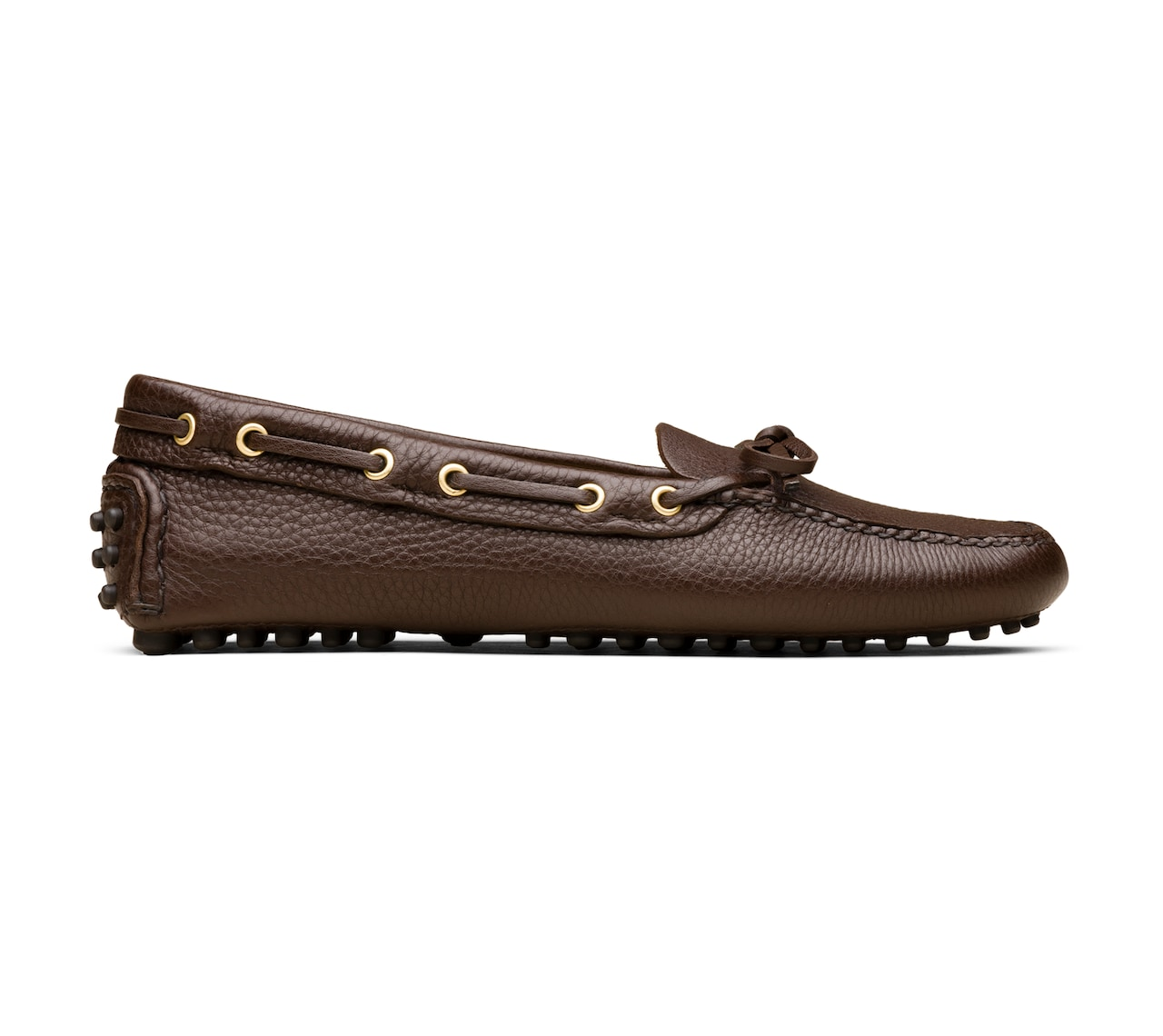 DRIVING SHOES DEERSKIN BROWN
