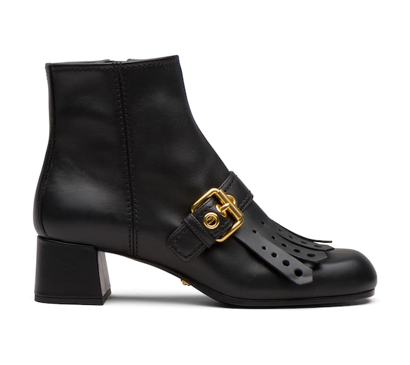 BOOTIES CALF LEATHER