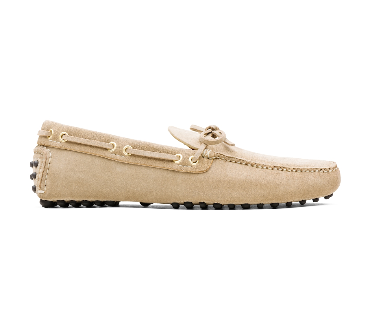 SUEDE DRIVING SHOES NEUTRAL