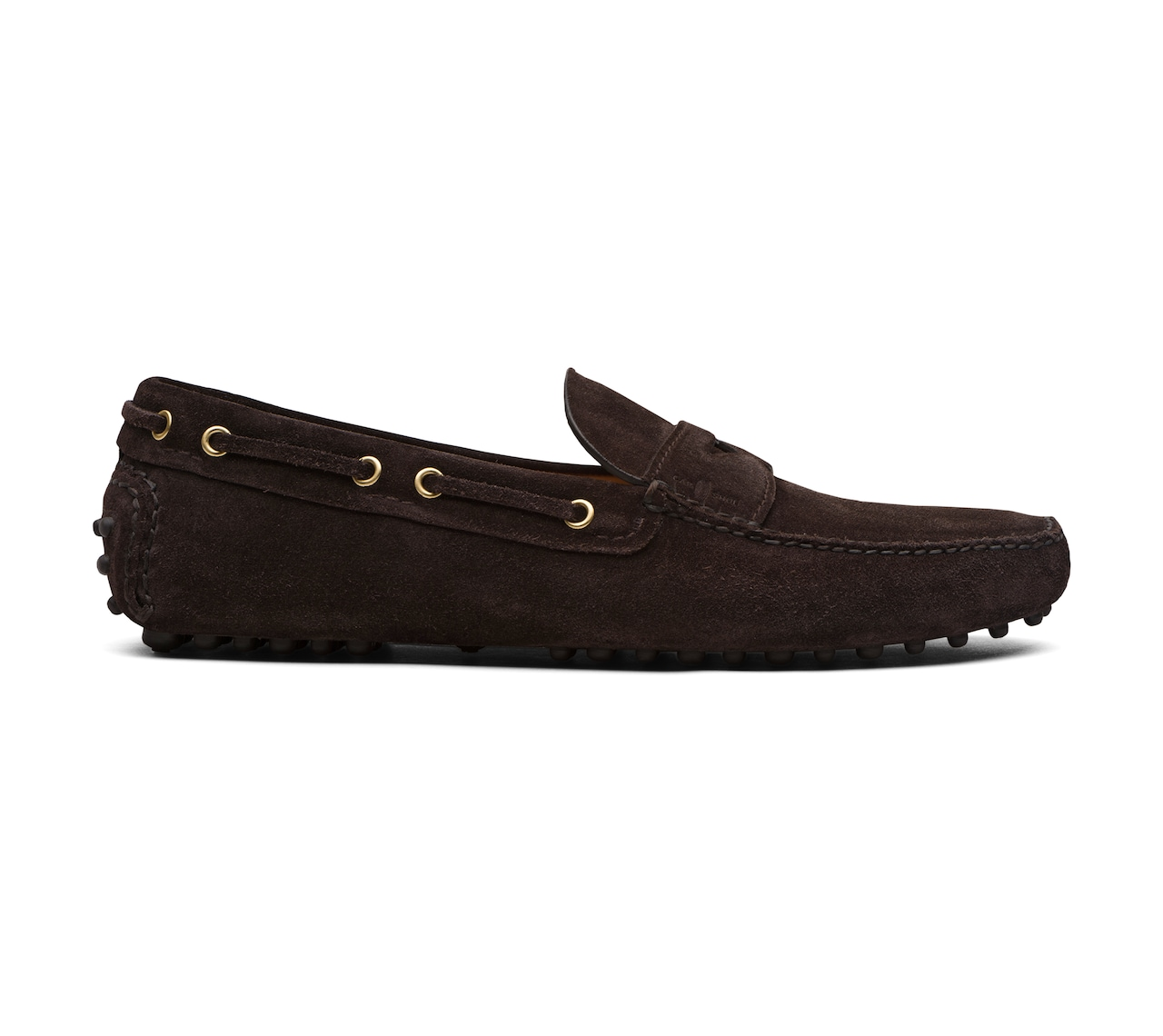 DRIVING SHOES SUEDE BROWN