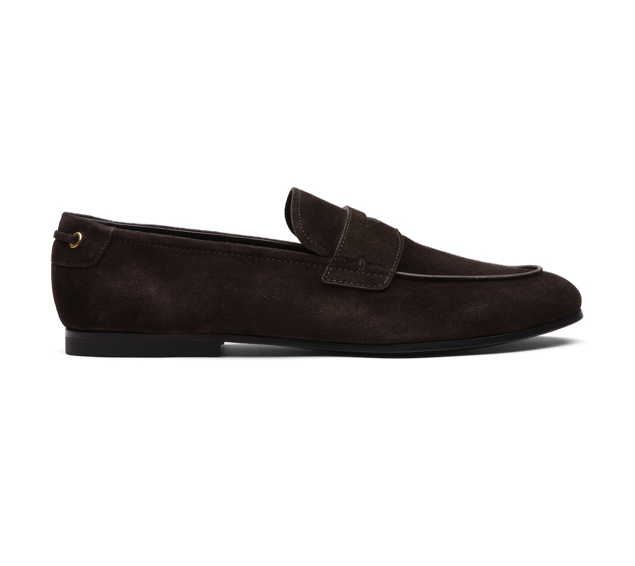 SUEDE MOCASSINS BROWN
