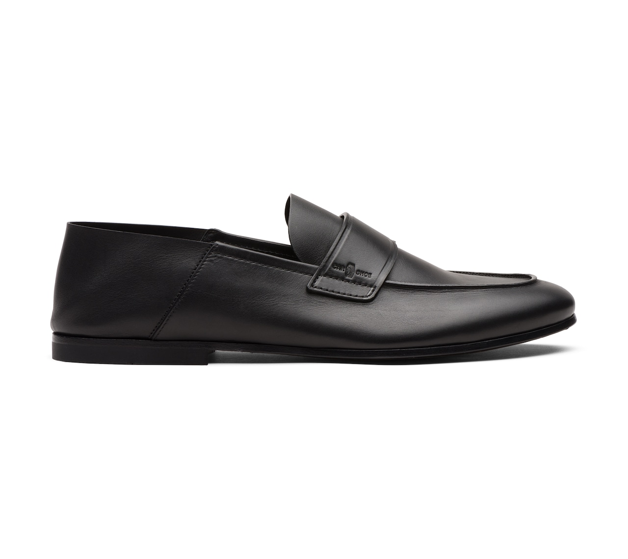 SOFT LEATHER MOCASSINS BLACK