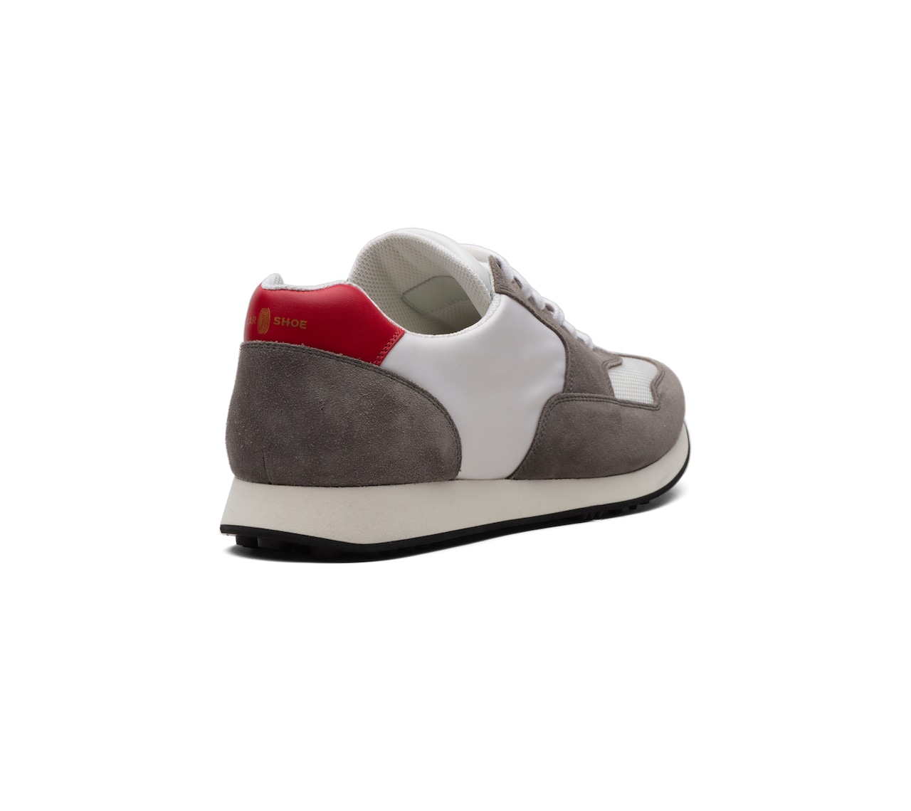 SUEDE+FABRIC SNEAKERS