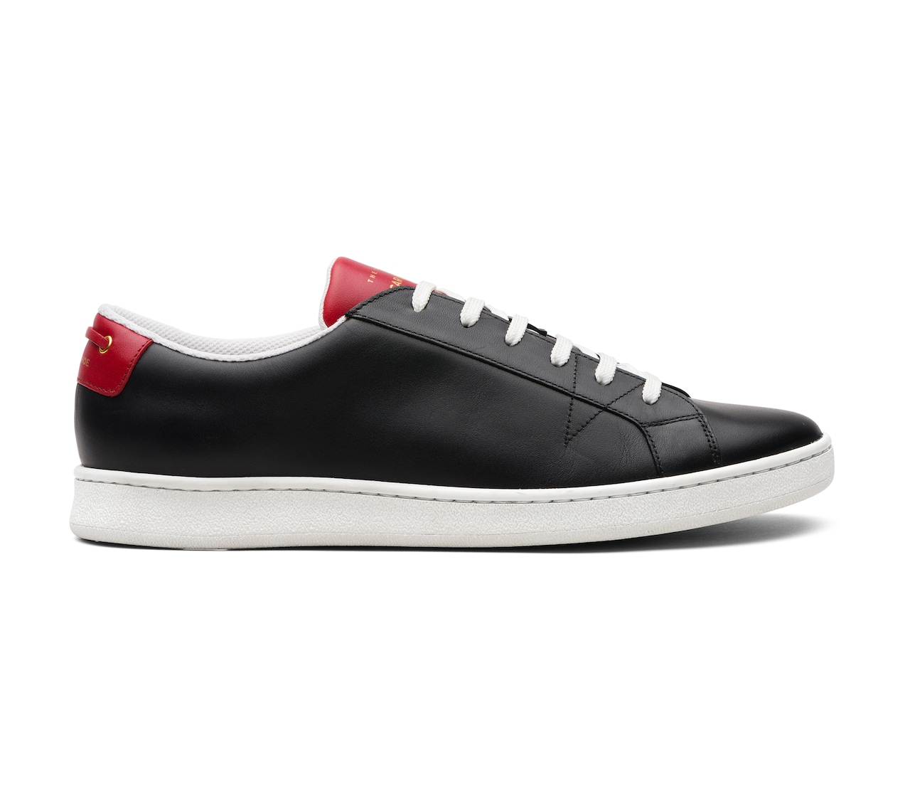 SNEAKERS CALF LEATHER BLACK