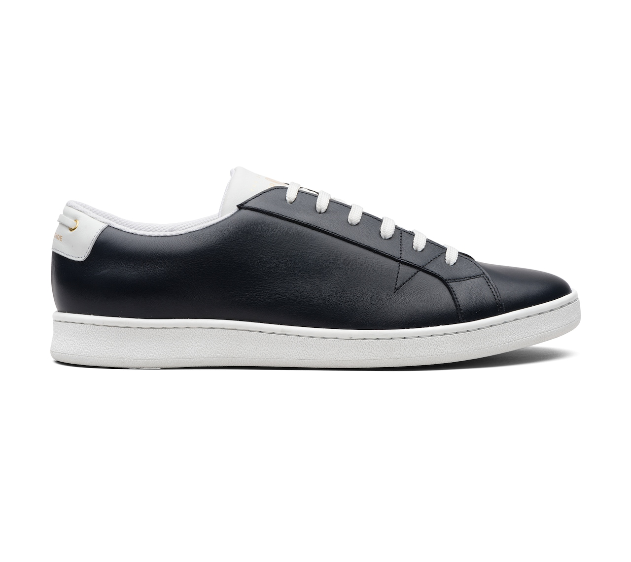 SNEAKERS CALF LEATHER BLUE